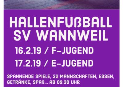 Hallenfußball SV Wannweil